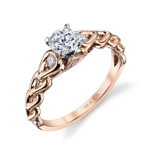 Diamond Accent Engagement Ring