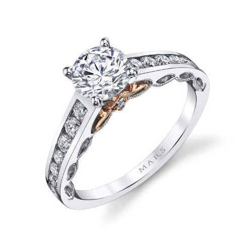 0.50 Ct Tw Diamond Engagement Ring