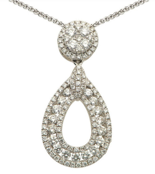 0.85 Ct Tw Diamond Pendant