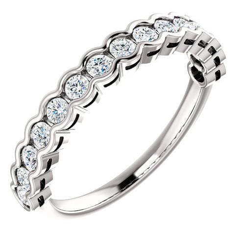 Round Diamond Anniversary Ring