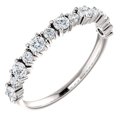 Diamond Anniversary Ring, 0.50 ct tw