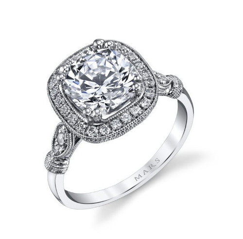 Antique Inspired Engagement Ring