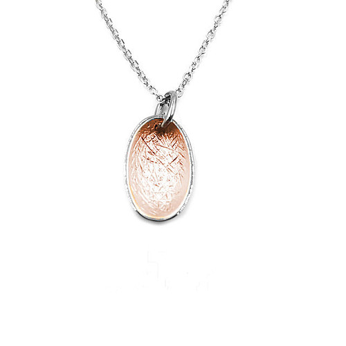 Rose Gold & Silver Pendant