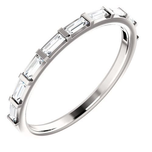 Straight Baguette Diamond Ring