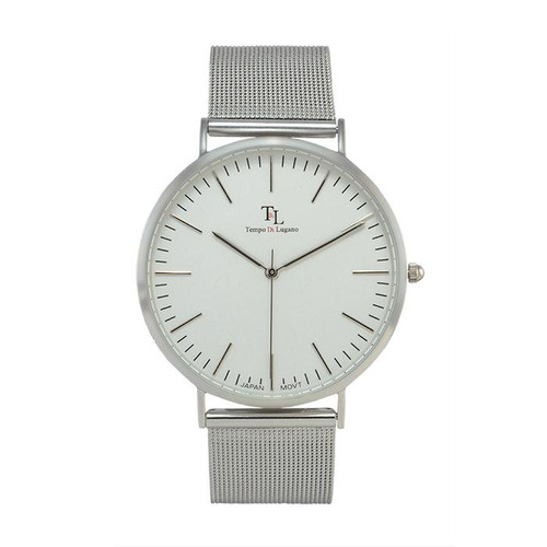 Silver Lugano Watch