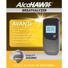 AlcoHawk Avanti Alcohol Breathalyzer