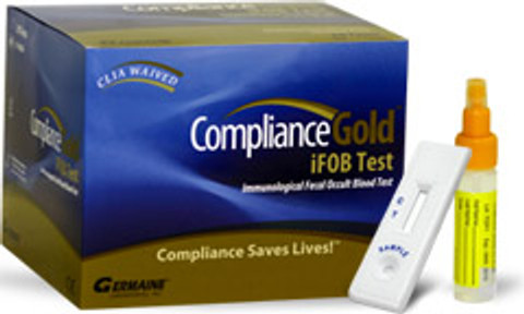 Compliance Gold (iFOB) Fecal Occult Blood Test