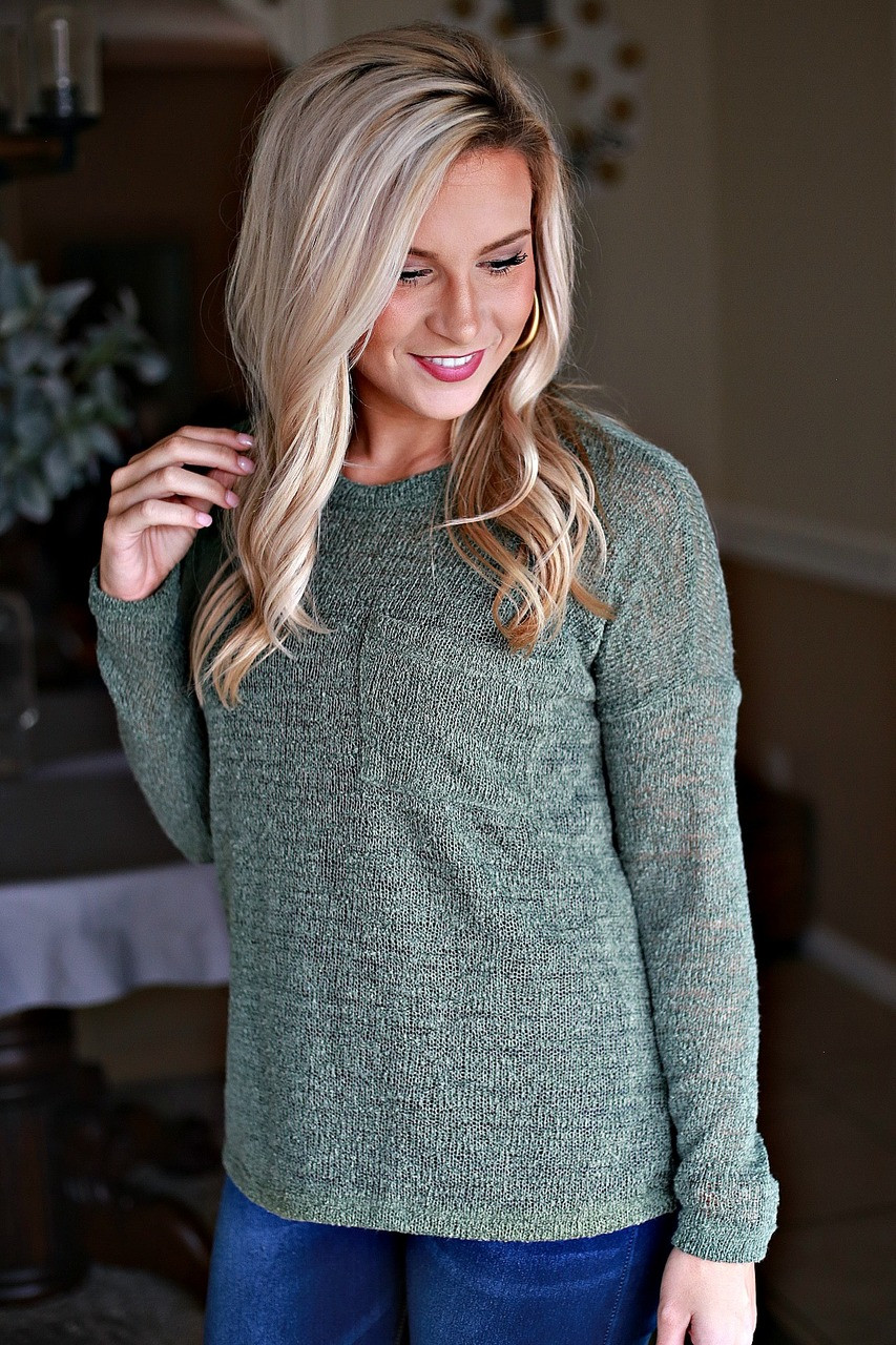 d2ed5b758583 My Favorite Sweater  Olive - Off the Racks Boutique