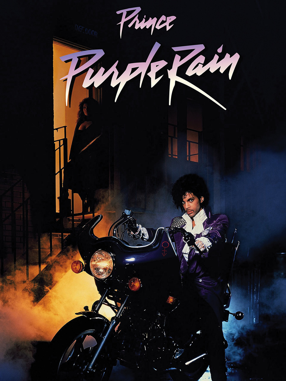 Prince Purple Rain Movie Poster