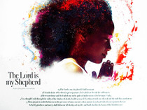 The Lord Is My Shepherd Poster Children (18x24)