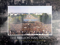 Million Man March Poster 20 Year Anniversary