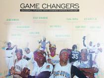 Baseball Poster Black Sports History (18x24)