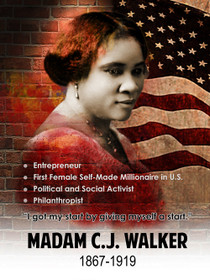 Madam CJ Walker poster.