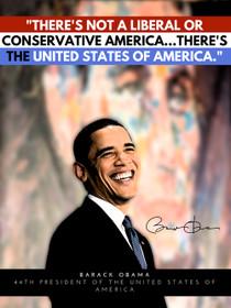 Barack Obama poster.
