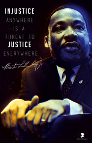 Martin Luther King Jr poster.