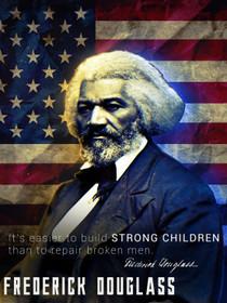 Frederick Douglass poster.