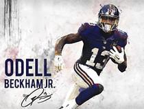 Odell Beckham Jr poster.