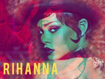 Rihanna Poster Photo Art Print.