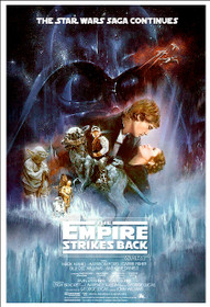 Star Wars The Empire Strikes Back Poster Movie Art Large Print