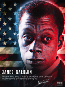 James Baldwin Poster It Can Be Done Classroom Quote