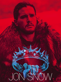 Jon Snow Poster Game of Thrones