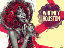 Whitney Houston poster.