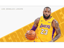 LeBron James Lakers Poster