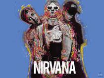 Nirvana Poster Music Wall Art Print