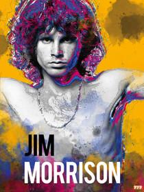Jim Morrison Poster Music Wall Art Print