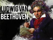 Beethoven Poster Music Wall Art Print