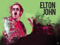 Elton John Poster Music Wall Art Print