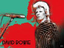 David Bowie Poster Music Wall Art Print