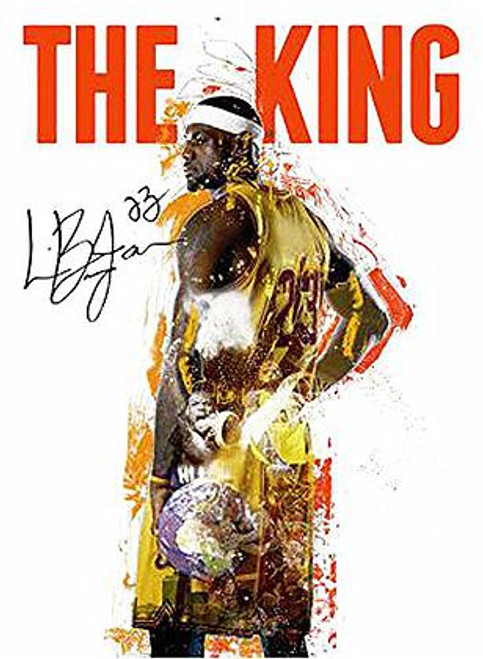 LeBron James Poster Cavaliers 23 King (18x24)