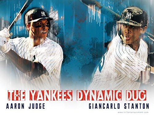 Aaron Judge Giancarlo Stanton Poster New York Yankees