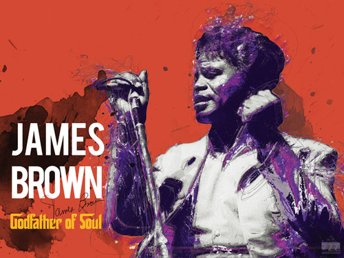 James Brown Godfather of Soul Poster