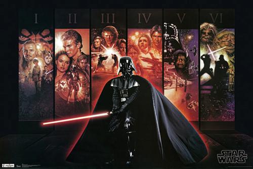 Star Wars Darth Vader Poster Episodes