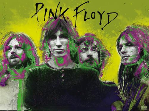 Pink Floyd Poster Music Wall Art Print