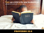 Train Up A Child Poster Proverbs 22:6 Bible Scripture Wall Print