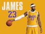 LeBron James LA Lakers Poster
