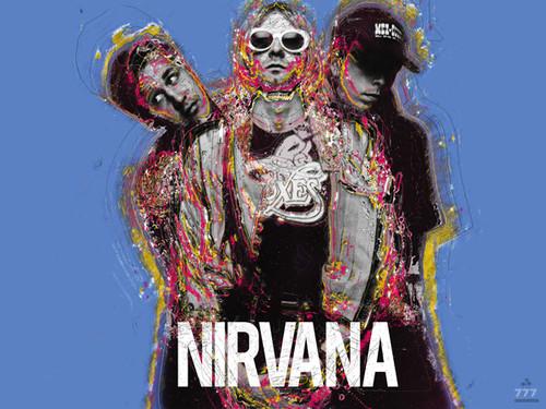 Nirvana Poster Music Wall Art Print (24x18)
