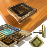 square drawer pulls
