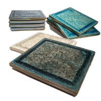 Square Glass Coasters