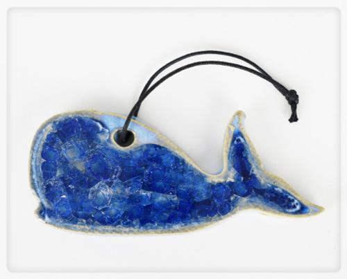 whale ornament