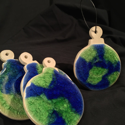 Planet Earth Ornaments