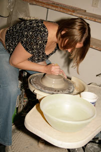 pottery wheel wa artist