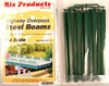 Rix Products HO 628-0125 Highway Overpass Steel Beams (10 pack)