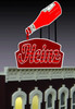 Miller Engineering HO/O 1081 Large Heinz Ketchup Billboard, Animated Neon Style Sign Kit