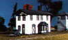 American Model Builders N 612 Laser-Cut Wood Kit, Two-Story Depot with Square Bay Window