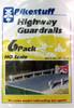 Pikestuff HO 541-0013 Highway Guardrails Kit (6 pack)