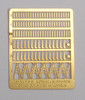 Gold Medal Models N 160-33 Pennsylvania Railroad Antenna Mounts (116 Mounts for PRR Diesel Locomotives and Cabooses)